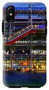 The Centre Pompidou-paris IPhone X Tough Case