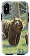 The Family - Black Bears IPhone X Tough Case