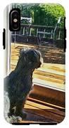 The Fluffy Watcher IPhone X Tough Case