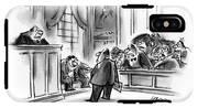 The Jury Will Disregard The Witness's Last IPhone X Tough Case