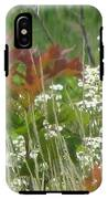 The Mighty Tiny Oak Amidst White Flowers IPhone X Tough Case