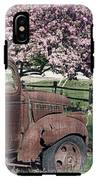 The Old Truck And The Crab Apple IPhone X Tough Case