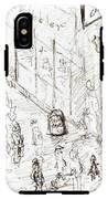 The Pencil Scribbler IPhone X Tough Case