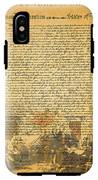 The Signing Of The United States Declaration Of Independence IPhone X Tough Case
