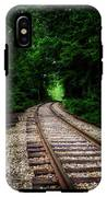 The Tracks Through The Woods IPhone X Tough Case