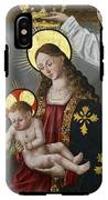 The Virgin And The Child With The Parrot IPhone X Tough Case