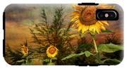 Three Sunflowers IPhone X Tough Case