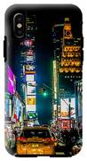 Times Square Nyc IPhone X Tough Case