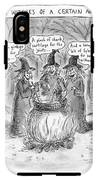 Title Witches Of A Certain Age... Aging Witches IPhone X Tough Case