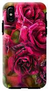To Be Loved - Red Rose IPhone X Tough Case