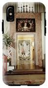 Tony Duquette's Entrance Hall IPhone X Tough Case