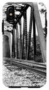 Train Trestle In B/w IPhone X Tough Case