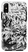 Tree Bush Vignette IPhone X Tough Case