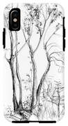 Tree IPhone X Tough Case