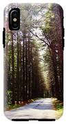 Tree Lined Road IPhone X Tough Case