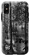 Trees Bw IPhone X Tough Case