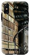 Trinity Collage Library Dublin IPhone X Tough Case