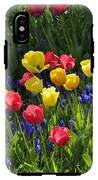 Tulips And Grape Hyacinths IPhone X Tough Case