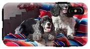 Two Cocker Spaniels Together IPhone X Tough Case