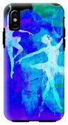 Two Dancing Ballerinas  IPhone X Tough Case