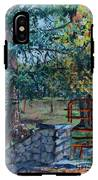 Two Trees And A Gate IPhone X Tough Case