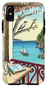 New Yorker April 18th, 2011 IPhone X Tough Case