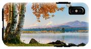 Usa, Oregon, Bend, Fall At Black Butte IPhone X Tough Case
