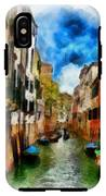 Venice Watercolor IPhone X Tough Case