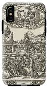 Venus Rides Chariot Pulled By Doves IPhone X Tough Case