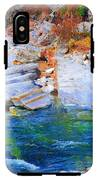 Vibrant Colored Rocks Verzasca Valley Switzerland II IPhone X Tough Case