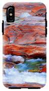 Vibrant Colored Rocks Verzasca Valley Switzerland IPhone X Tough Case