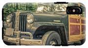Vintage Jeep Station Wagon IPhone X Tough Case