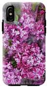 Violet IPhone X Tough Case