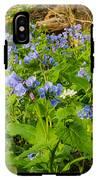 Virginia Bluebells IPhone X Tough Case
