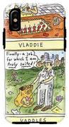 Vlad The Impaler's Descendants IPhone X Tough Case