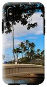Waialae Beach Park Bridge Too IPhone X Tough Case