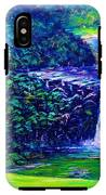 Waimea Falls - Horizontal IPhone X Tough Case