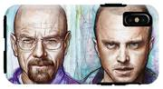 Walter And Jesse - Breaking Bad IPhone X Tough Case