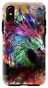 Watercolor Dragon IPhone X Tough Case