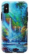 waterfall lV IPhone X Tough Case