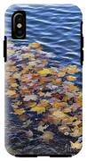 Wave Of Fall Leaves IPhone X Tough Case