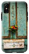 Weathered Door IPhone X Tough Case