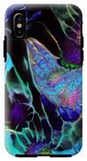 Webbed Galaxy IPhone X Tough Case