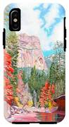 West Fork - Sedona IPhone X Tough Case