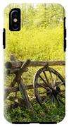 Wheel On Fence IPhone X Tough Case