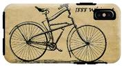 Whippet Bicycle IPhone X Tough Case