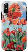 Whispering Poppies IPhone X Tough Case