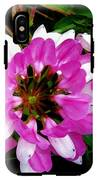 White And Purple Wildflower IPhone X Tough Case