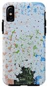 White Flowers IPhone X Tough Case