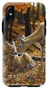 Whitetail Deer - Autumn Innocence 2 IPhone X Tough Case